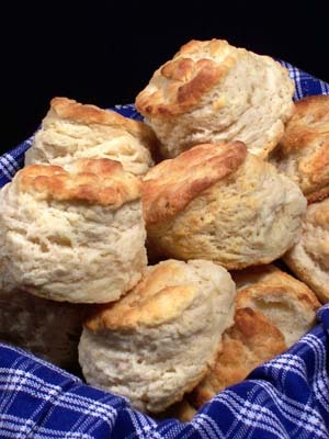 Lovely, high-risen biscuits!