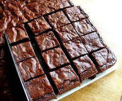 Deep, Dark Chocolate Brownies - Jenni Field's Pastry Chef Online