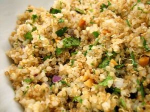 Anything rice can do quinoa can do better