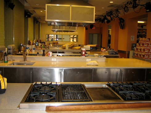 The Food Network Kitchen, where you will be in school for the rest of your life.