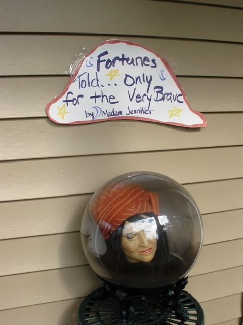 Gypsy head fortune teller.