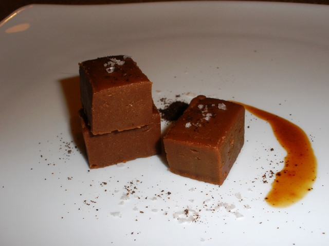 plated fudge