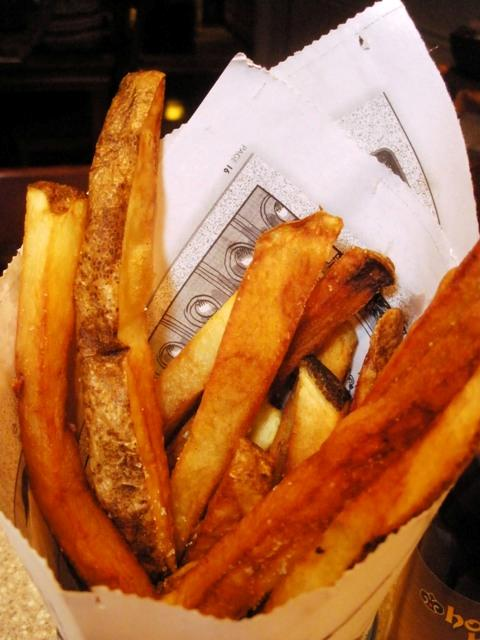 homemade seasoned French fries