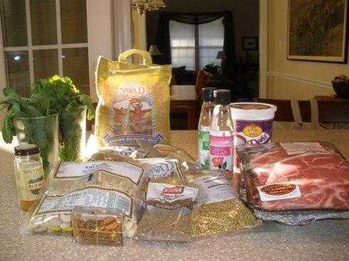 lamb biryani ingredients