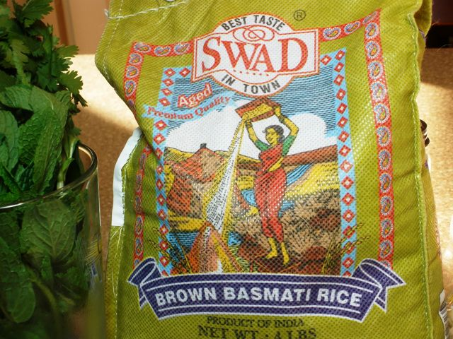 Swad brand Brown Basmati Rice