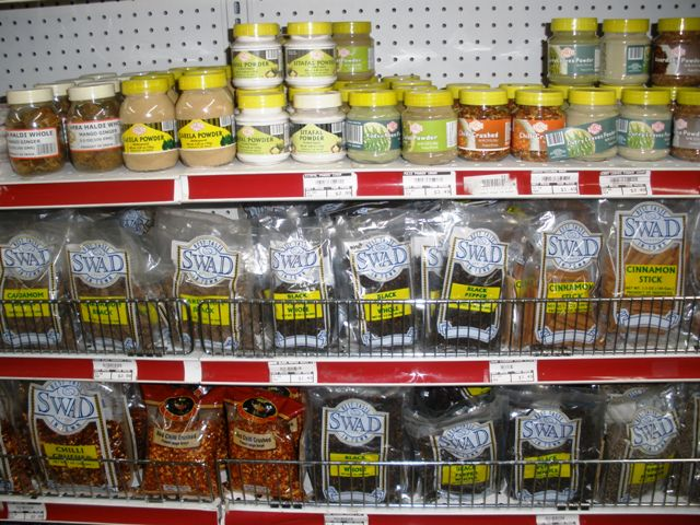 I went to the All Around the World Market and was met by a dizzying array of spice-y goodness.