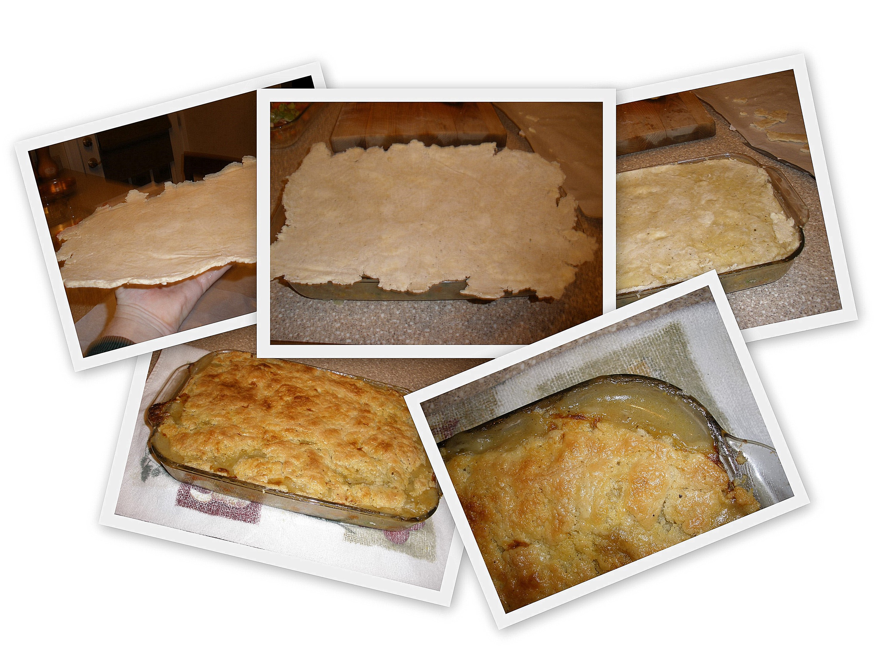 baking chicken pot pie